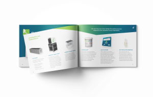 Grenova Product Booklet product spread
